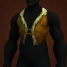 Barbaric Linen Vest Model