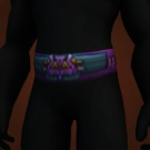 Elder's Sash, Darkmist Girdle, Cilice of Suffering, Kirin'Var Journeyman's Belt Model