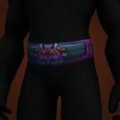 Elder's Sash, Darkmist Girdle, Cilice of Suffering, Kirin'Var Journeyman's Belt Model