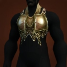 Barbaric Iron Breastplate Model