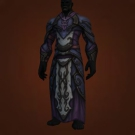 Soul-Stitched Robes, Fluxflow Robes, Fetid Gutcover Apron, Arcanist's Resonant Robes, Ravencourt Formal Robes Model