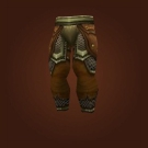 Plainstrider Leg Armor, Hammerfoot's Mail Leggings, Woven Mail Leggings, Restored Mennaran Mail, Oil-Stained Leggings, Togrik's Legguards, Ironband Legguards, Veteran Leggings, Redridge Legguards, Foreman's Leggings Model