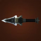 Engraved Dagger, Infused Dragonbone Splinter, Ebony Dagger Model