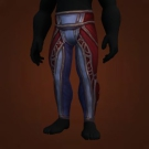 Wild Gladiator's Leggings of Prowess, Wild Gladiator's Silk Trousers, Warmongering Gladiator's Leggings of Prowess, Warmongering Gladiator's Silk Trousers Model