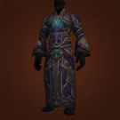 Brutal Gladiator's Mooncloth Robe, Brutal Gladiator's Satin Robe Model