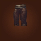 Crafted Dreadful Gladiator's Mooncloth Leggings, Crafted Dreadful Gladiator's Satin Leggings Model