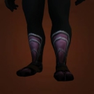 Black Mageweave Boots, Abyss Walker's Boots, Abyssal Cloth Footwraps Model