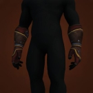 Savage Gladiator's Leather Gloves Model