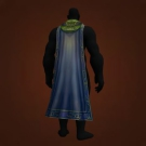 Pale Moon Cloak, Sethekk Oracle Cloak, Oil-Stained Tarp, Drape of the Bloodletter, Cloak of the Deadliest Game, Dark Soldier Cape, Drape of the Undefeated, Shadowvault Slayer's Cloak, Shadowvault Slayer's Cloak Model