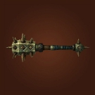 Spiked Coldwind Club, Peaked Club, Maker's Touch, Frigid War-Mace Model