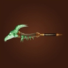 Whelpling-Skull Zapper, Branch of Everlasting Flame, Wand of Blinding Light Model