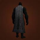 Blackmetal Cape, Redoubt Cloak, Gilded Thorium Cloak Model
