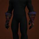 Hateful Gladiator's Mooncloth Gloves, Hateful Gladiator's Satin Gloves Model
