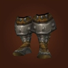 Replica Blood Guard's Mail Walkers, Replica Knight-Lieutenant's Mail Greaves, Replica Blood Guard's Mail Greaves Model