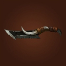 Iron Horde Carving Knife, Creeperclaw Dagger, Steamscar Shank Model