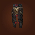 Eternal Blossom Legguards, Eternal Blossom Legwraps, Eternal Blossom Leggings, Eternal Blossom Breeches, Fear-Blackened Leggings Model