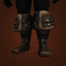 Black Chitinguard Boots Model