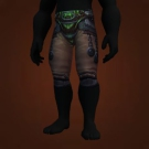 Ironscale Leggings, Leggings of the Weary Mystic Model