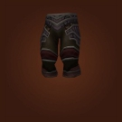Wrathful Gladiator's Kodohide Legguards, Wrathful Gladiator's Dragonhide Legguards, Wrathful Gladiator's Wyrmhide Legguards Model