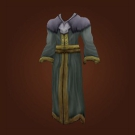 Gray Woolen Robe Model