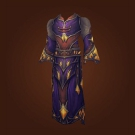 Sanguine Silk Robes, Ermine Coronation Robes Model