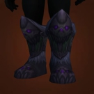 Scourge Fanged Stompers, Bone Drake's Enameled Boots Model