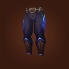 Leggings of Consuming Flames, Gale Rouser Leggings Model