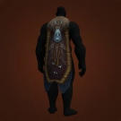 Embroidered Wolfsfur Cloak, Unfailing Cloak Model