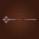 Refinished Warden Staff, Burnished Warden Staff, Staff of Forsaken Faith, Warden Staff, Trindlehaven Staff Model