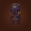 Sanctified Crimson Acolyte Leggings, Sanctified Crimson Acolyte Pants Model