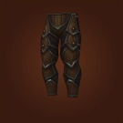 Mushan Hide Legguards, Silentleaf Legguards Model