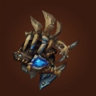 Crafted Dreadful Gladiator's Leather Spaulders Model