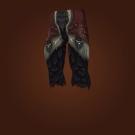 Grutush's Fur-Padded Pantaloons, Warpscale Legguards, Wildwood Wrangler Leggings, Deathweb Legguards Model