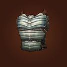 Silvered Bronze Breastplate Model