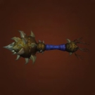 Evermorn Scepter, Karabor Honor Guard Mace, Thunderlord Riding Crop, Rangari Initiate Blackjack, Greldrok's Facesmasher, Riverbeast Femur, Gordunni Skullthumper, Tormented Warmace, Vorpil's Ribcrusher, Munificent Warmace, Turbulent Warmace, Zolvolt's Shocking Mace, Grandiose Warmace, Formidable Warmace, Riverbeast Molar Club Model