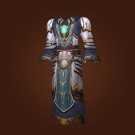 Wrathful Gladiator's Mooncloth Robe, Wrathful Gladiator's Satin Robe Model
