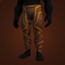 Runic Leather Pants, Mighty Leggings, Outrider's Lizardhide Pants, Sentinel's Lizardhide Pants Model