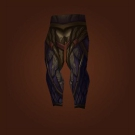 Lasherweave Legplates, Leggings of Unrelenting Blood, Lasherweave Trousers, Lasherweave Legguards Model