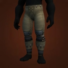 Duskwoven Pants, Replica Marshal's Satin Pants Model