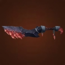 Shard of Scorn, Bloodmane Sword, Void-Warped Oshu'gun Shortsword Model