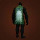 Zoram'gar Cloak, Jadefire Cloak, Living Cloak Model