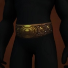 Earthswell Belt, Girdle of Bolete Explosion, Gyreworm Waistguard, Stormforged Belt Model