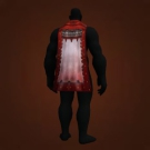 Cloak of Courage, Bloodstone-Studded Cloak, Redpine Cloak Model