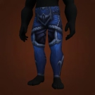 Brutal Gladiator's Leather Legguards Model