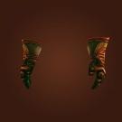 Runed Copper Gauntlets Model