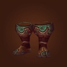 Blastwalker Footguards, Contender's Scale Boots, Airbender Sandals, Blastwalker Footguards, Airbender Sandals Model