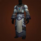 Relentless Gladiator's Mooncloth Robe, Relentless Gladiator's Satin Robe Model