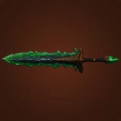 Vinewrapped Greatsword, Felfire Lit Greatsword Model