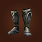 Black Dragonscale Boots Model