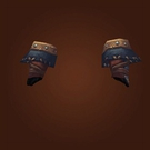 Malevolent Gladiator's Leather Gloves Model